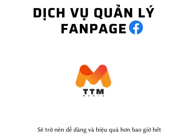quản lý Fanpage sẽ trở nên dễ dàng, hiệu quả hơn khi có dịch vụ quản lý Fanpage